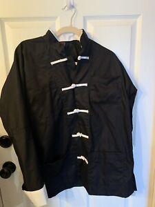 ProForce Gladiator Judo/Jiu Jitzu Jacket  Black W/White Buttons