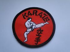 Aufnäher  Kampfsport   Karate ca  7 cm