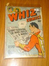 WHIZ COMICS #64 VG (4.0) 1945 APRIL FAWCETT*