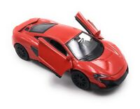 Mc Laren 675LT Model Car Sports Car Hypercar Car Red Race Car Scale 1:3 4
