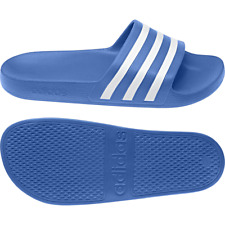 Adidas Men's ADILETTE AQUA Slide Sandals Beach Shoes Flip Flops F35541 Blue