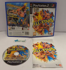 Console Game SONY Playstation 2 PS2 PSX2 PAL ITALIANO Wrestling - WWE ALL STARS