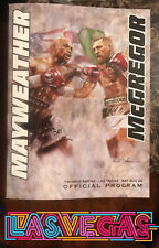 Mayweather Mcgregor Official Fight Program MayMac 8-26-17 (FAST Shipping)