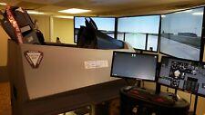 F16 Viper fighter jet flight simulator