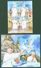 Togo 2014 - Papst Franziskus - Pape François - Papa Francisco - Taube Uhr Wappen