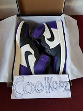 Nike Air Jordan 1 Retro High Court Purple - UK 11 / US 12 / EU 46