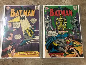 Batman Comic Book Lot 170 172