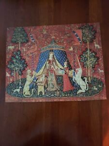 """Liberty Jigsaw Puzzle """"The Lady and the Unicorn"""" 489 piece Complete"""