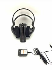 Sony Tmr-if504r Wireless Infrared Headphones With Dock / Power Supply