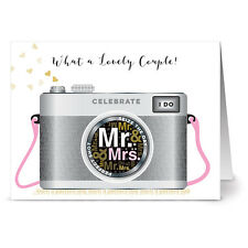 24 Note Cards - What a Lovely Couple! - Gray Envs