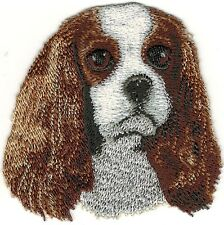 Cavalier King Charles Dog Breed Embroidery Patch