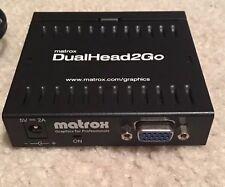 Matrox DualHead2Go - VGA