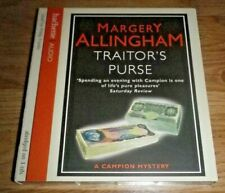 """Margery Allingham """"Traitor's Purse""""  Read by Philip Franks. Abridged on 3 CDs."""