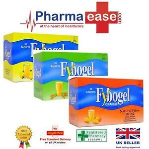 Fybogel Sachets   Orange / Lemon / Plain   2 / 6 / 12 sachets   Mix & Match