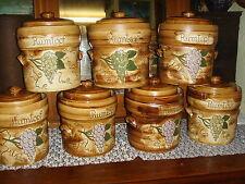 Bunzlauer Keramik Rumtopf Unikat Handarbeit weißer Ton 5 Liter