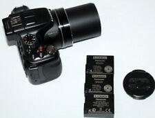 Panasonic LUMIX DMC-FZ200 12.1MP Digital Camera Black Works NICE FREE SHIP USA