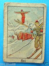 figurines cromos figurine sportive sports anni 30 40 v.a.v. vav sci ski skiing z