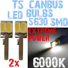 2 LED T5 5630 White 6000K Gloeilampen instrumentenpaneel Lighting Bright 1A11.2