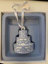 Wedgwood Our First Christmas Together Ornament 2014 Our First Cake 10314764 Nib