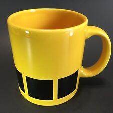 Waechtersbach Mug West Germany Yellow with Black Squares 10 oz.