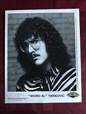 1992 Press Photo Weird Al Yankovic Parody Michael Jackson Who's Fat