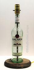 Bacardi Rum Table Desk LAMP Bar Lounge Game Room Liquor Bottle Party Light Lamp