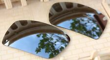 ACOMPATIBLE Polarized Replacement Lenses for-Oakley Gascan - Silver Mirror