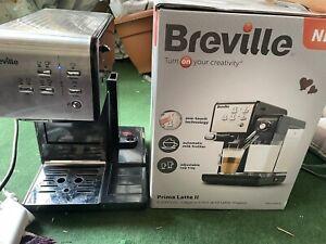 Breville Prima Latte 2 VCF108 One-Touch Black  Coffee Machine - For PARTS