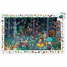 Djeco Observation Puzzle 100pc Enchanted Forest