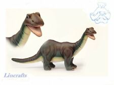 Brontosaurus Plush Soft Toy Dinosaur by Hansa from Lincrafts. 6134