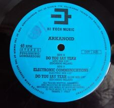 "ARKANOID - Do You Say Yeah 1991 TECHNO RAVE HOUSE CLASSIC - Italy Hi Tech 12"""
