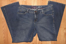 TOMMY HILFIGER SIZE 12A FREEDOM BOOT WOMENS STRETCHY COMFY  MEDIUM BLUE JEANS