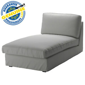 Ikea KIVIK Chaise Lounge Cover Slipcover Orrsta Light Gray 402.786.56 Washable