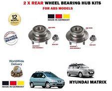 für Hyundai Matrix 1.5 CRDi 1.6 1.8 2001- > NEU 2 x hinten ABS Radlager Sets