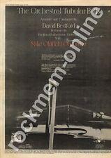 Mike Oldfield David Bedford Orchestral Tubular Bells MM5 LP Advert 1975 #2 CD