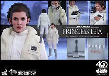 Hot Toys MMS Star Wars The Empire Strikes Back Princess Leia 1/6 Hoth USA Seller