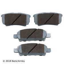 Disc Brake Pad Set Rear Beck/Arnley 085-1848