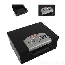 Fireproof Digital Security Media Safe Home Money Jewelry Key Lock Box