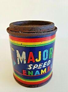 Vintage Tin Majora Speed Enamel Paint 1/2 Pint