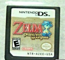 The Legend of Zelda: Phantom Hourglass (Nintendo DS, 2007) Great Condition