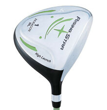 LEFT HAND LH Rising Star Junior Driver Ages 8-10 Green GOLF