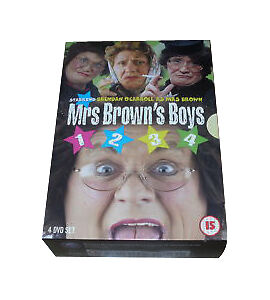 Mrs Brown's Boys PART 1-4 1 2 3 4 RARE 4 DISC (UK RELEASE) DVD