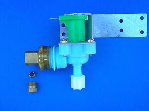 Universal Icemaker Water valve Frigidaire 120V  #218720300  + inlet conn + Jaco