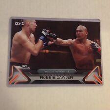ROBBIE LAWLER #68 2016 Topps Knockout fighter MMA 5X7 UFC GOLD 03/10 made