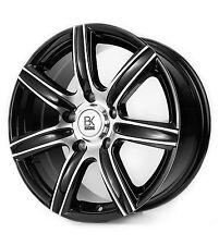 "808 18"" 4 Alloy Wheels Black 5x118 Vivaro Primastar Trafic Weight load rated"