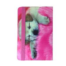 Bookcase Tablet Tasche für ARCHOS 101e Neon Hülle Hund 10.1 Zoll