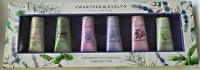 new Crabtree & Evelyn set 6 hand lotion SUMMER HILL IRIS ROSEWATER LILY LAVENDER