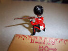 Hand made & painted Lead soldier rifleman approx 1.5 inches tall - red uniform
