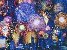 PUZZLE..JIGSAW..COLORLUXE..FIREWORKS..500.piece...Sealed