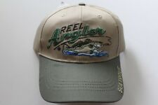 Angler Cap Kappe Mütze Fishing Angler Mütze Angeln  Schirm Beige